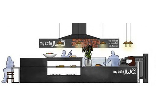 Coffee Shop Design - Erina Fair - WVA Design